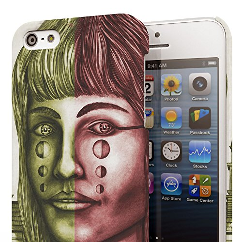 Koveru Back Cover Case for Apple iPhone 5S - Crying Girl