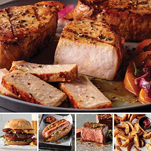 Omaha Steaks Most Wonderful Time Sampler (13-Piece with Top Sirloins, Boneless Pork Chops, Steak Burgers, Jumbo Franks, and Steakhouse Fries) ()