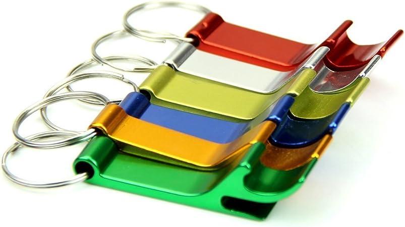 couleur al/éatoire LUFA Bouteille Ouvre Porte-cl/és En Aluminium Porte-cl/és Porte-cl/és Porte-cl/és Pure Couleur M/étal Barre /À Bi/ère Outil Griffe