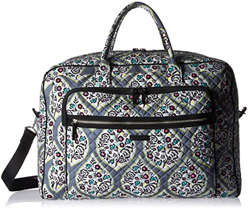 Vera Bradley Women's Iconic Grand Weekender Travel Bag-Signature by Vera Bradley