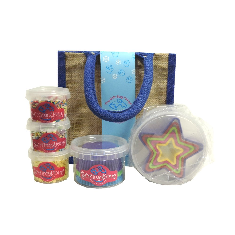 Scrumptious Sprinkles - Christmas Star Gift Bag (Case of 4)