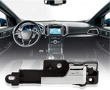 MYSMOT Interior Rear Right Passenger-Side Chrome Door Handle For 2006-2012 Ford Fusion 2007-2012 Lincoln MKZ 2006 Lincoln Zephyr 2006-2011 Mercury Milan Replaces 6E5Z 5422600-A, 6E5Z5422600A