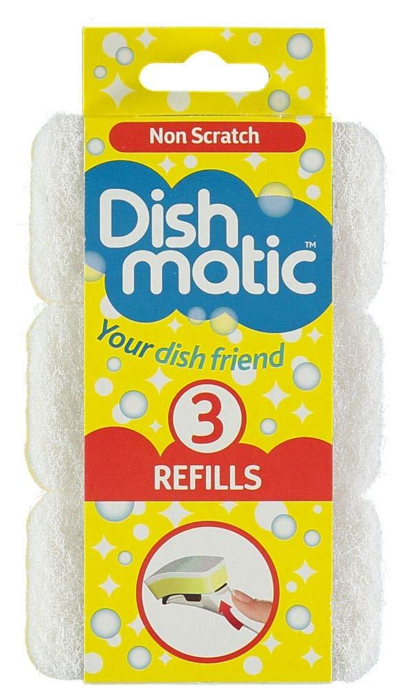 3 esponjas Dishmatic de recambio de Caraselle product image