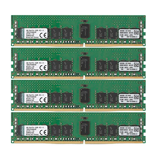 Ddr Sdram Controller - Kingston Technology 32GB RAM Kit (4x8GB) 2133MHz DDR4 ECC Reg CL15 DIMM SR x 4 with TS Server Memory