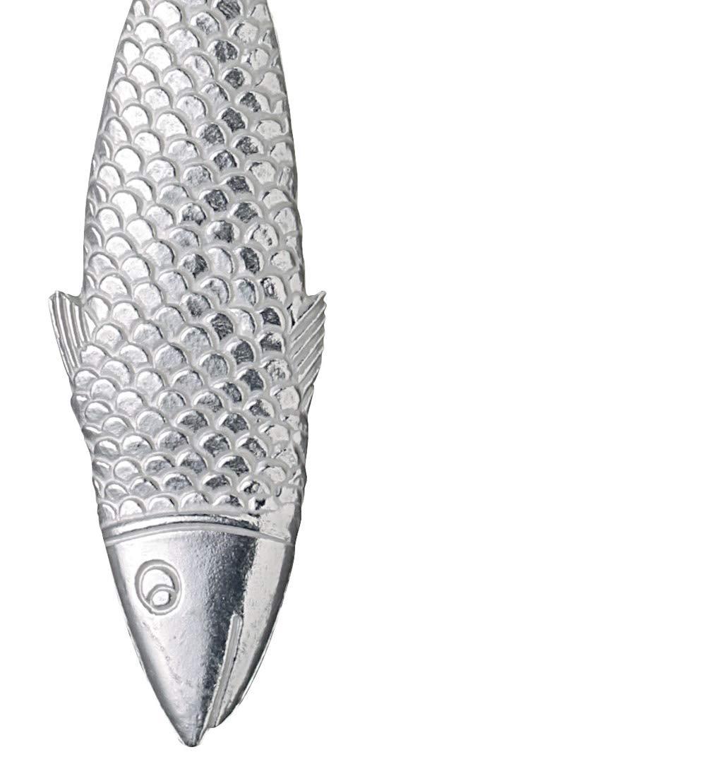 Desquamatore pesce in alluminio