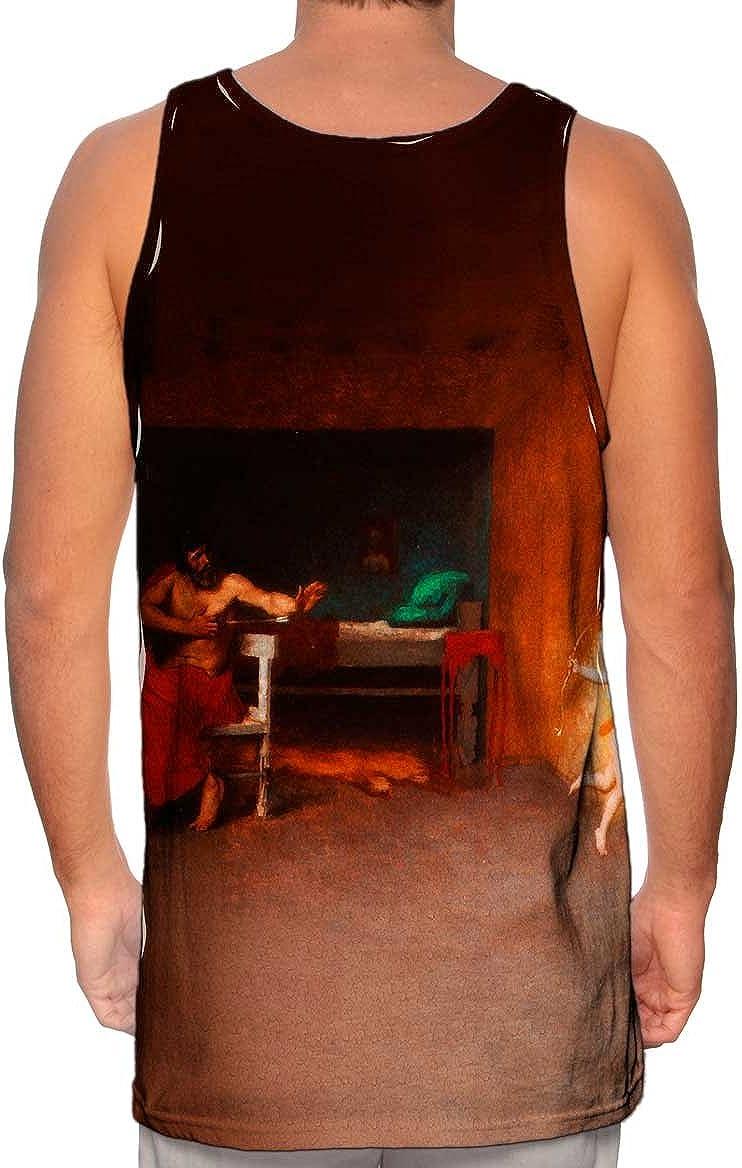 Anacreon -Tshirt- Mens Tank Top Yizzam- Jean Leon Gerome 1870