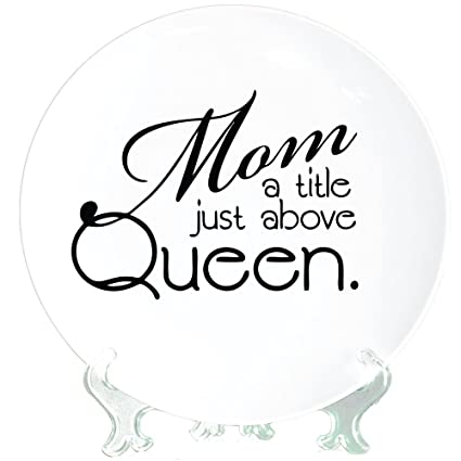 Buy YaYa Cafe Birthday Gifts For Mom Queen Decorative Plate Mother From Daughter