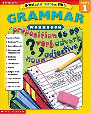 Scholastic Success With: Grammar Workbook: Grade 1 (Scholastic ...