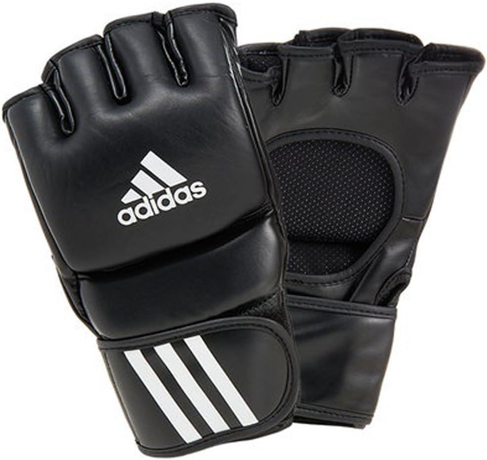 Adidas ADICSG041-E Leather Ultimate Fight Gloves Fight Punch Adidas Medium Large 黒 Sports Fighting アディダスADICSG041-Eレザーアルティメットファイトグローブファイトパンチアディダスミディアムラージブラックスポーツファイティング [並行輸入品]  Large