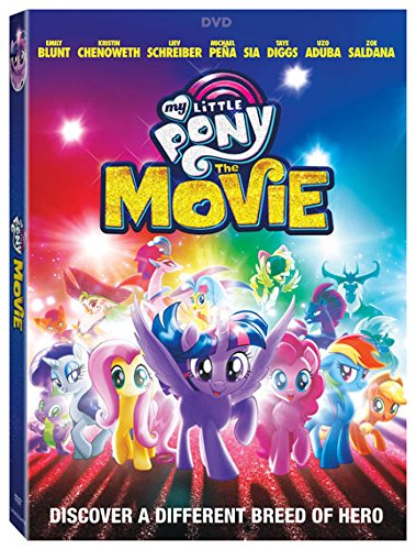 DVD : My Little Pony: The Movie (Widescreen, Dolby, AC-3, )