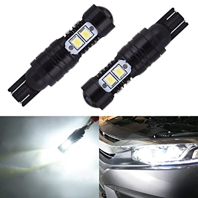 Catinbow 168 194 175 194 2825 W5W T10 Wedge LED Bulbs Car Interior Dome Map Door Courtesy License Plate Lights - 2pcs: Automotive