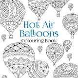 Hot Air Balloons Colouring Book