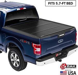 "BAK BAKFlip G2 Hard Folding Truck Bed Tonneau Cover   226207   Fits 2009-20 Dodge Ram 2019 2500-3500 5'7"" Bed"