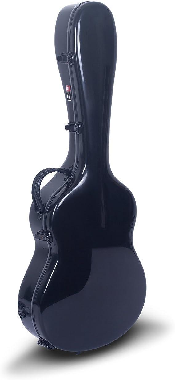 Crossrock Les Paul - Funda rígida para guitarra (fibra de vidrio, estilo mochila, color negro (CRF1000LBK): Amazon.es: Instrumentos musicales