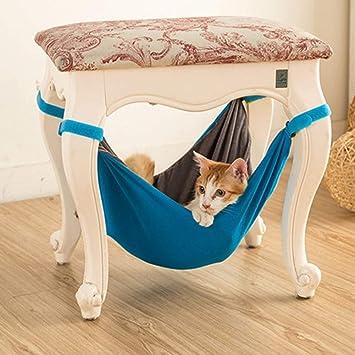 HNBGY Agraciado Hamaca para Gatos, Cama Doble Multifuncional para Gatos, Cama para Gatos Impermeables, Nido para Mascotas (S, Azul): Amazon.es: Productos ...