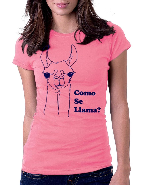 Amazon.com: Women's Como Se Llama? Funny Tee T-Shirt: Clothing