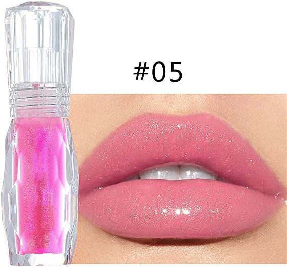 Lilicat – Pintalabios líquido, brillante, multicolor, transparente, maquillaje de labios, maquillaje de labios, belleza, brillo de labios, para mujer, mate, hidratante, resistente al agua: Amazon.es: Belleza