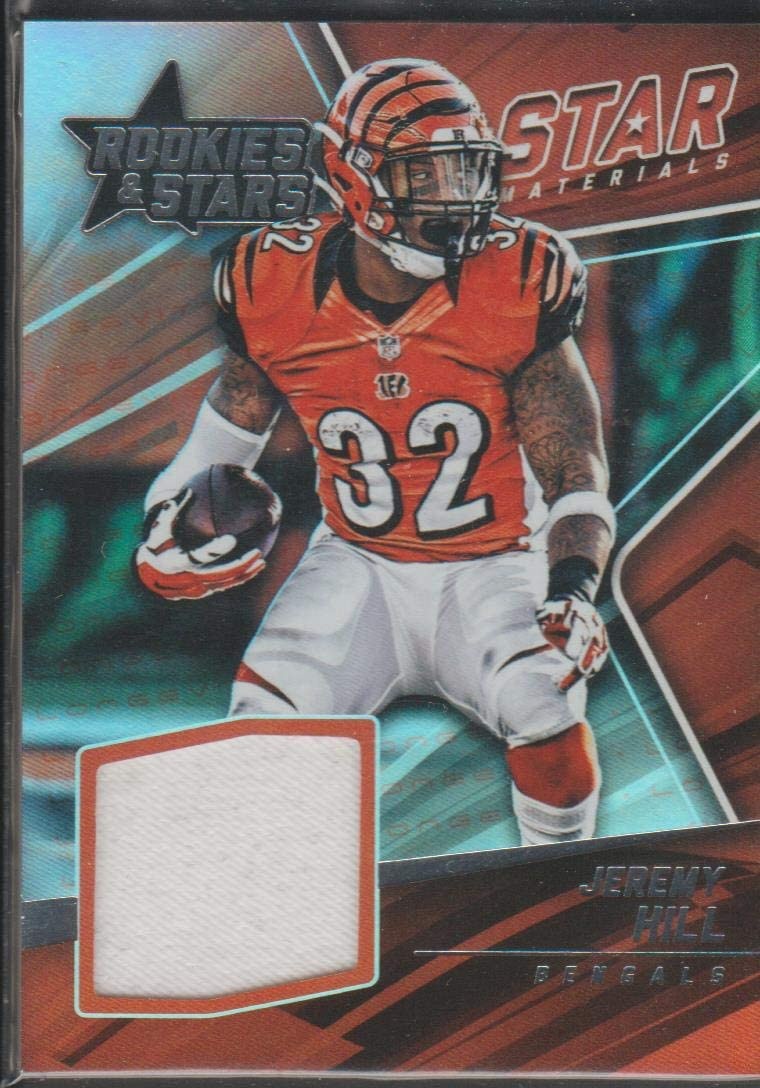 Amazon.com: 2015 Panini R&S Jeremy Hill Bengals Game Used Jersey ...