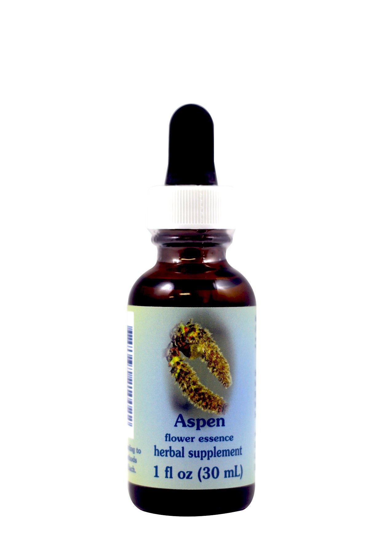Flower Essence Services Aspen Dropper Herbal Supplements, 1 Ounce