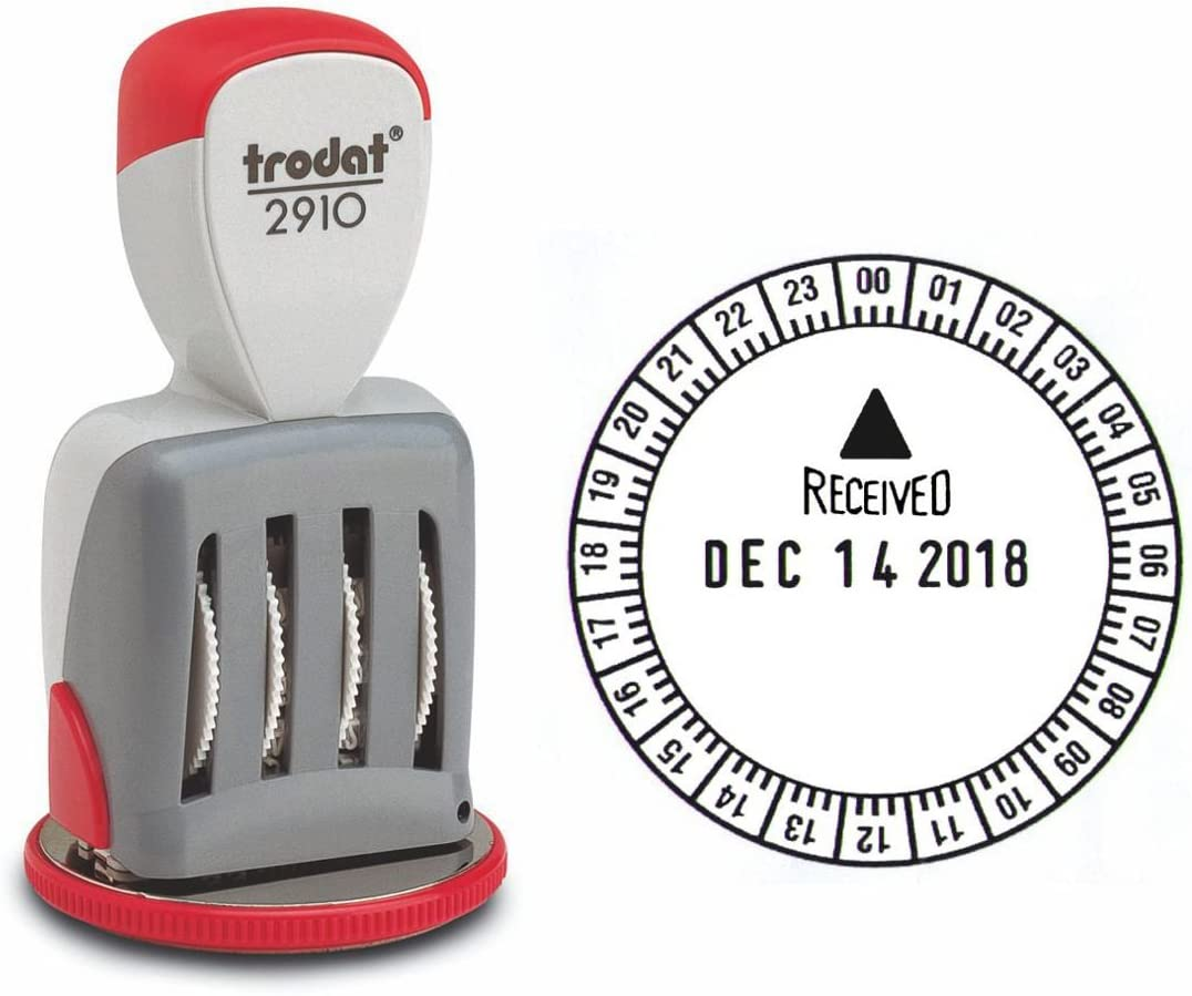 Trodat 2910 Classic Line Time and Date Stamp