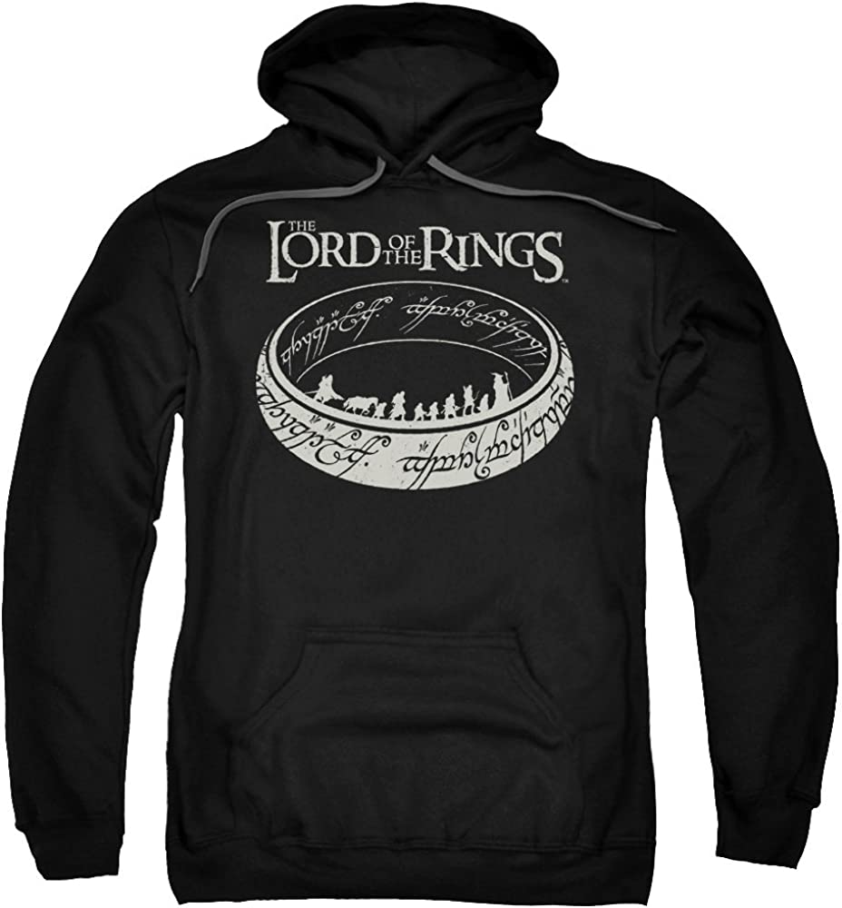 Lord Of The Rings The Journey Adult Pull-Over Hoodie