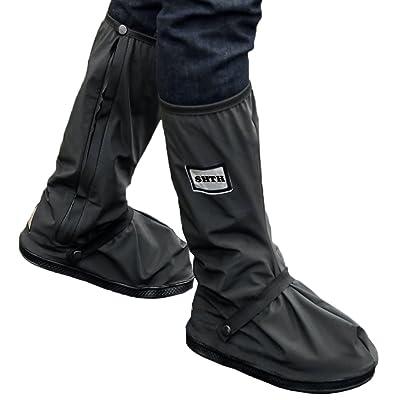 1paire de pluie Couvre-chaussures imperméable Chaussures, shth plates Surchaussures de pluie Couvre-chaussures antidérapant fixe pluie Couvre-chaussures parfaitement protégé contre l'humidit&