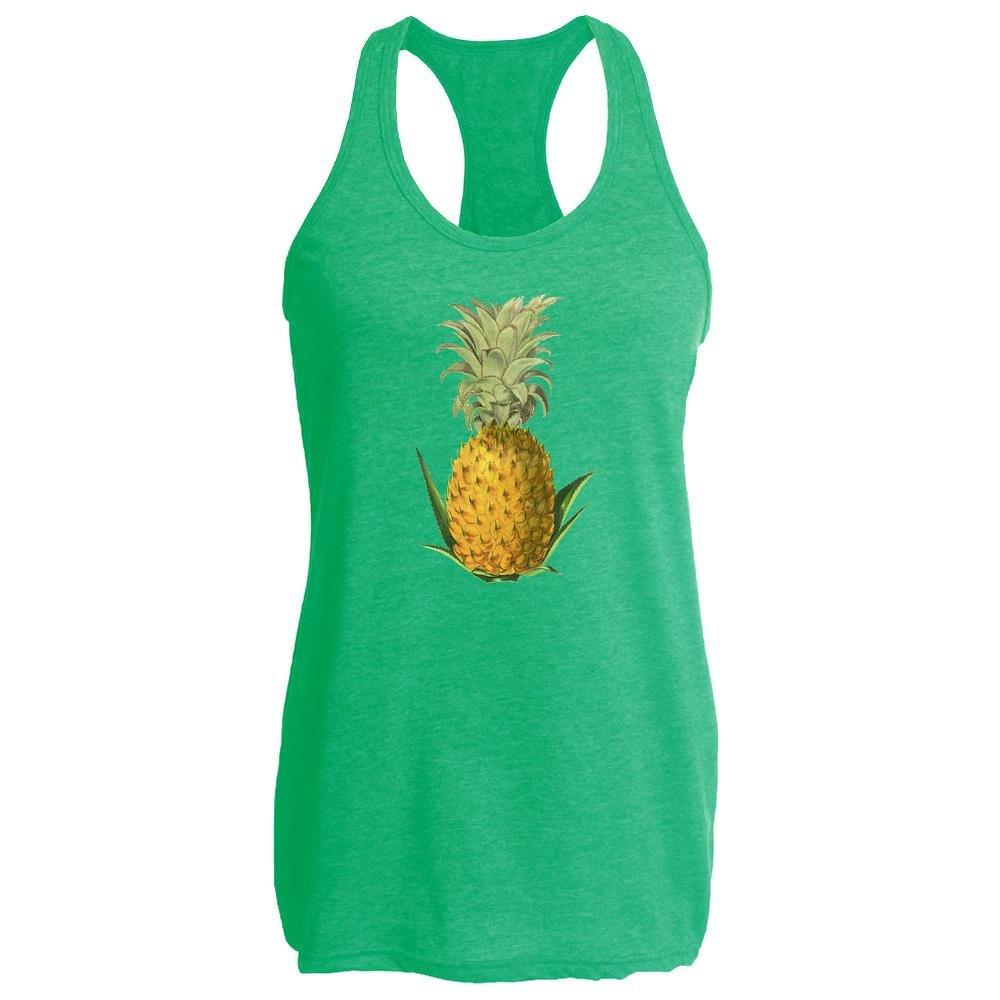 Pop Threads Pineapple Retro Womens Tank Top 2432-202