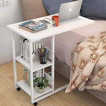 Mesa para cama con ruedas, escritorio para ordenador portátil ...