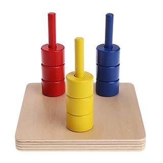 JAGENIE Montessori materiale in legno Score Doll Kid giocattoli educativi per imparare