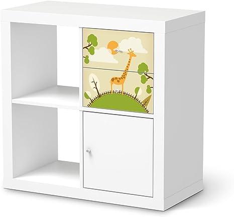 Diseño de pegatinas para IKEA kallax estantería de cajones ...