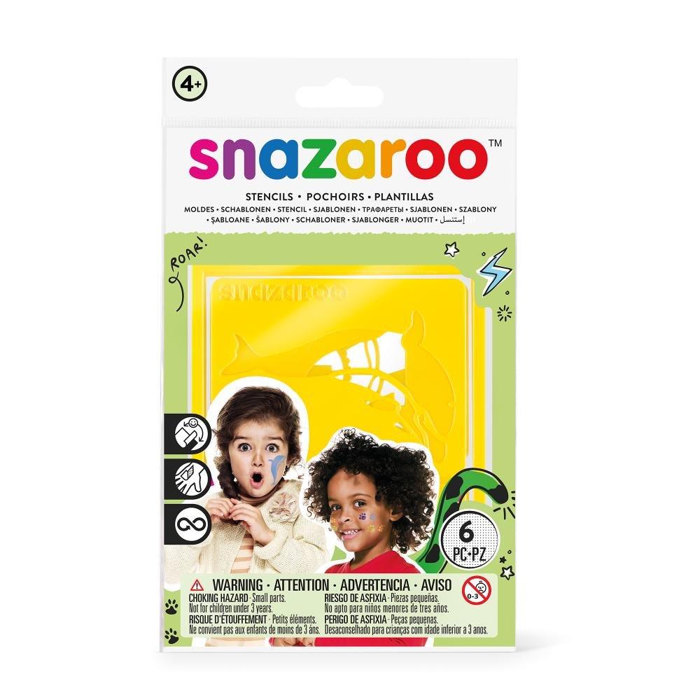 amazon com snazaroo face paint stencils girls fantasy set of 6