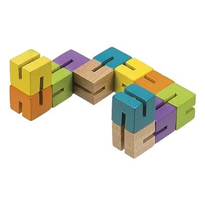Toysmith Wood Fidget Puzzle: Toys & Games