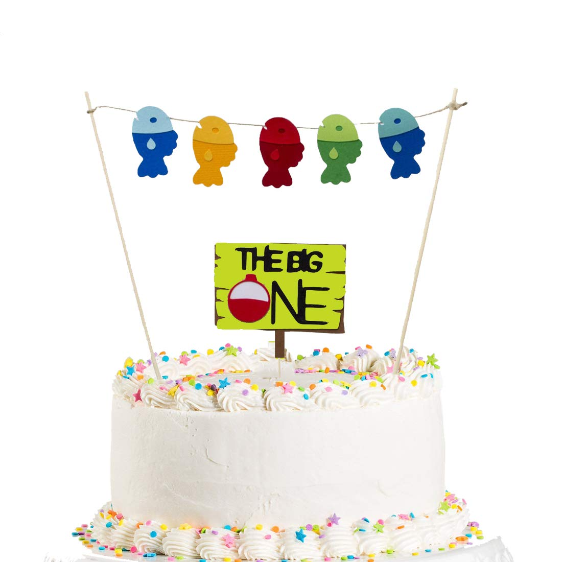 Enjoyable The Big One Cake Topper Ofishally One The Big One Birthday Funny Birthday Cards Online Elaedamsfinfo
