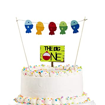 Awesome The Big One Cake Topper Ofishally One The Big One Birthday Funny Birthday Cards Online Eattedamsfinfo