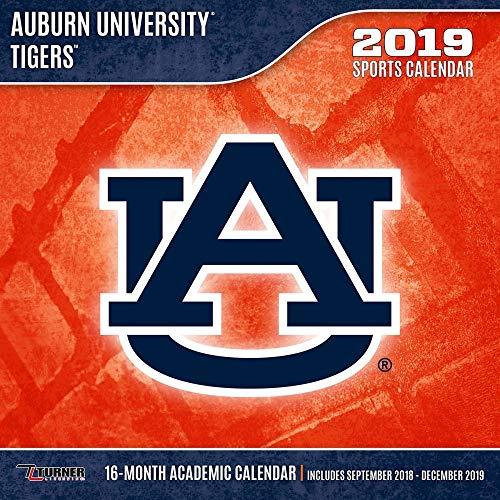 Auburn Tigers Wall Calendar, Auburn Tigers by Turner Licensing