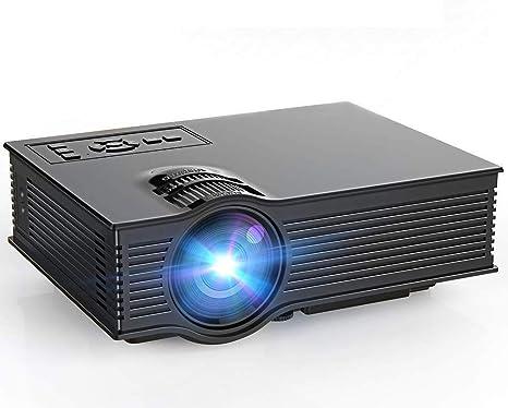 Profesional Proyector LED Proyector Multimedia Portátil Mini Proyector De Vídeo 3500 S LCD De Cine En Casa De Juegos De Vídeo Y Vídeo HD 1080P Y Entrada De USB: Amazon.es: Deportes y