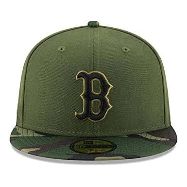 sale retailer ccb96 393eb 100% Authentic Boston Red Sox New Era Memorial Day Salute To Service 9Fifty  SnapBack Hat