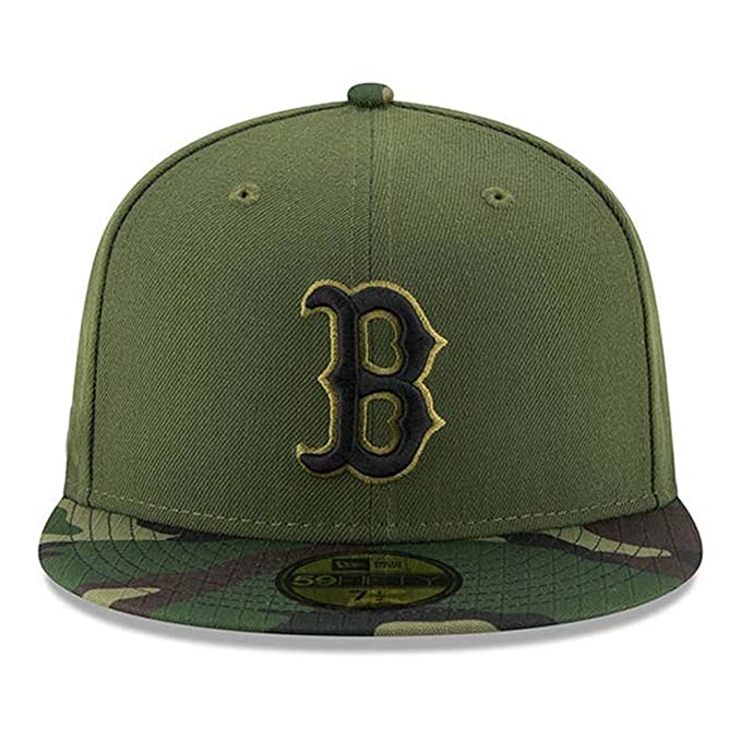 Image Unavailable. Image not available for. Color  100% Authentic Boston  Red Sox New Era Memorial Day Salute To Service 9Fifty SnapBack Hat a86ded8348b7