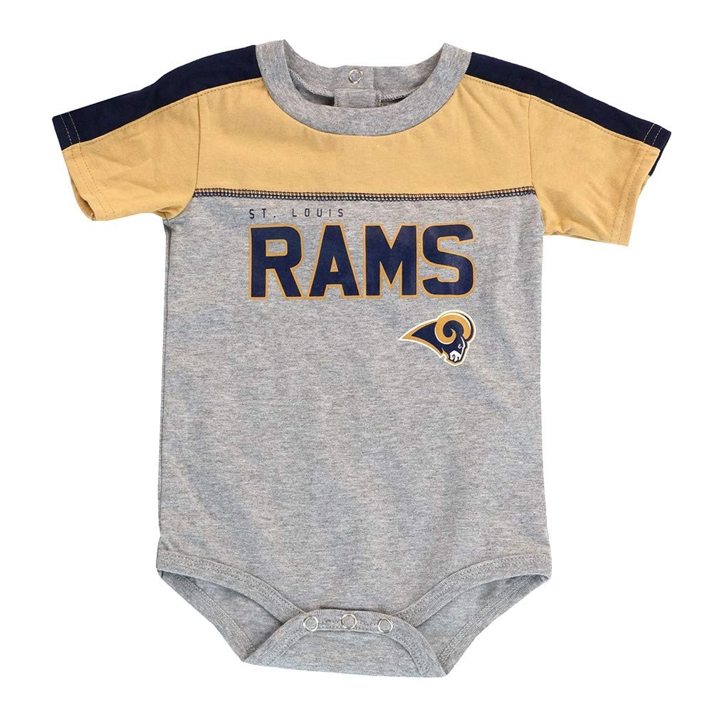 e8147821 Amazon.com : Outerstuff St. Louis Rams NFL Grey Horizon Team Creeper ...