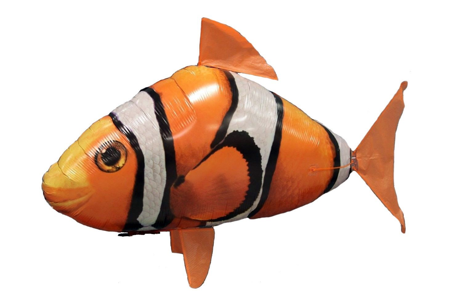 amazon com air swimmers remote control flying clownfish toys u0026 games