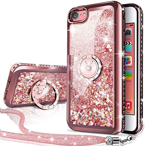 Silverback Holographic Kickstand Rhinestone Protective product image