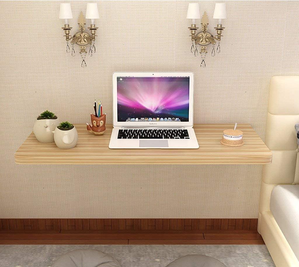 壁に取り付けられた簡単な折りたたみ式テーブルダイニングテーブルコンピュータデスクサイドテーブルライトクルミ、マルチ(サイズ:50 * 30 cm)
