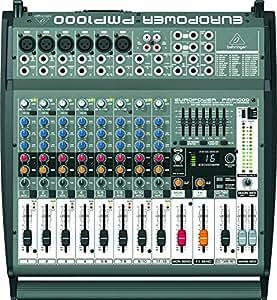 behringer europower pmp1000 500 watt 12 channel powered mixer musical instruments. Black Bedroom Furniture Sets. Home Design Ideas