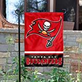 WinCraft Tampa Bay Buccaneers Double Sided Garden Flag