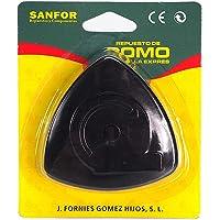 Sanfor Pomo olla adaptable a magefesa tradicional con tornillo | Negro | Blister pomo Triangular Convencional para ollas…