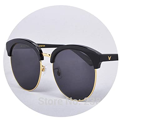 04f589436914 Big metal Half frame Polarized deborah sunglasses women men vintage sun  glasses classic oculos de sol