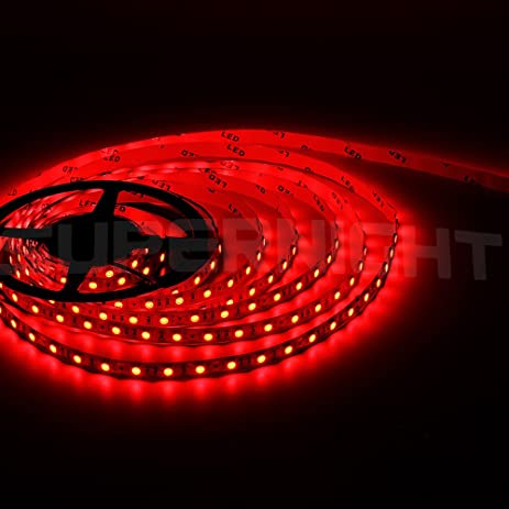 Amazon bzone 5m red waterproof led strip lighting kit 300 bzone 5m red waterproof led strip lighting kit 300 units 5050 leds water resistant aloadofball Gallery