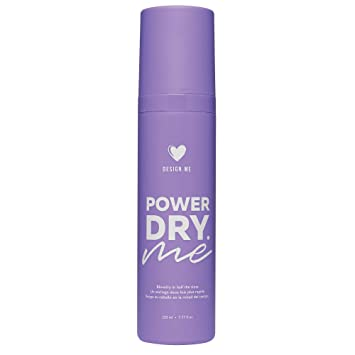 Design Me PowerDry ME Spray with Microemulsion Hair Drying Formula |  Cruelty-Free Quick Dry Hair
