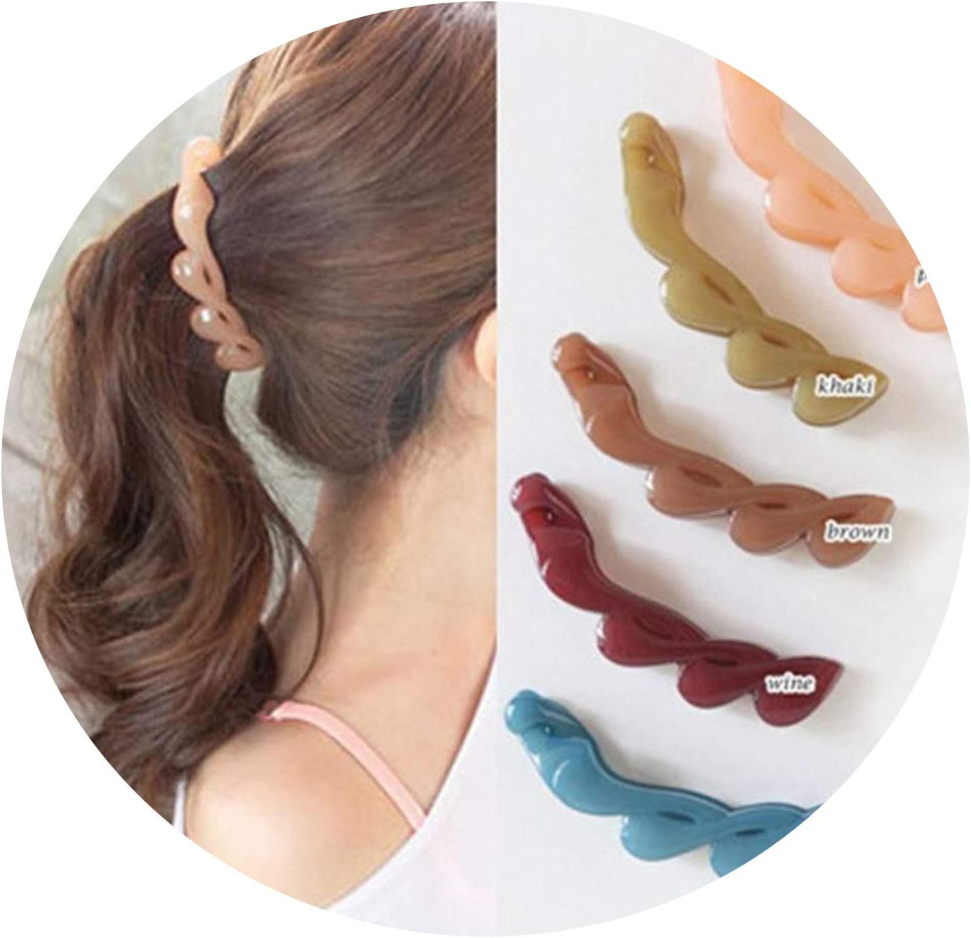 11 New Korean Hair Banana Clip Horsetail Hair Grip Cute Girls