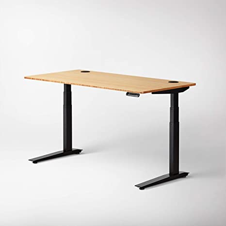 Surprising Jarvis Standing Desk Bamboo Top Electric Adjustable Height Sit Stand Desk 3 Stage Extended Range Frame With Memory Preset Handset Controller By Interior Design Ideas Grebswwsoteloinfo
